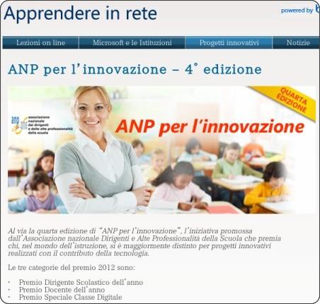 http://www.apprendereinrete.it/progetti/DocenteAnno/ANP.kl