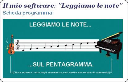 http://www.softwaredidatticofree.it/schedaleggiamolenote.htm