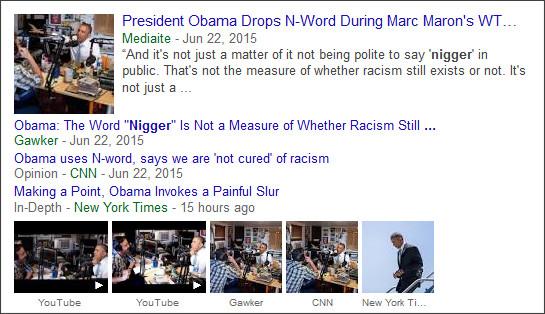 https://www.google.com/search?hl=en&gl=us&tbm=nws&authuser=0&q=Nigger&oq=Nigger&gs_l=news-cc.3..43j43i53.1926.3077.0.3983.6.4.0.2.2.0.434.806.0j3j4-1.4.0...0.0...1ac.wMTQH11mkUA