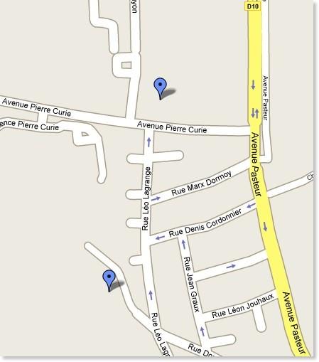 http://maps.google.com/maps/ms?hl=fr&ie=UTF8&msa=0&msid=100525441643570433132.0004444c92bae129f62da&ll=44.835627,-0.532107&spn=0.00369,0.007231&z=17&om=0