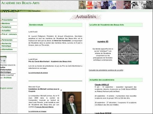 http://www.academie-des-beaux-arts.fr/actualites/