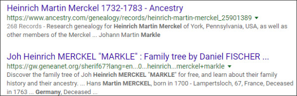 https://www.google.com/search?ei=So8AW-yFEIrb0gKj-aHgCg&q=Markle+Heinrich+Martin+Merckel+German&oq=Markle+Heinrich+Martin+Merckel+German&gs_l=psy-ab.3...21222.21222.0.22043.1.1.0.0.0.0.119.119.0j1.1.0....0...1..64.psy-ab..0.0.0....0.8QYQMLcFYJQ