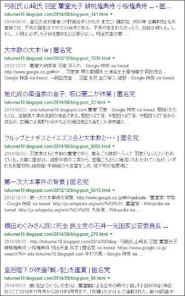 https://www.google.co.jp/search?hl=ja&safe=off&biw=1145&bih=939&q=site%3Atokumei10.blogspot.com+&btnG=%E6%A4%9C%E7%B4%A2&aq=f&aqi=&aql=&oq=&gws_rd=ssl#safe=off&hl=ja&q=site:tokumei10.blogspot.com+%E8%91%89%E5%AE%A4