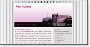 http://templates.arcsin.se/pink-sunset-website-template/