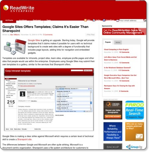 http://www.readwriteweb.com/enterprise/2009/11/google-sites-offers-templates.php?utm_source=feedburner&utm_medium=feed&utm_campaign=Feed%3A+readwriteweb+%28ReadWriteWeb%29