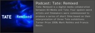 http://channel.tate.org.uk/podcasts