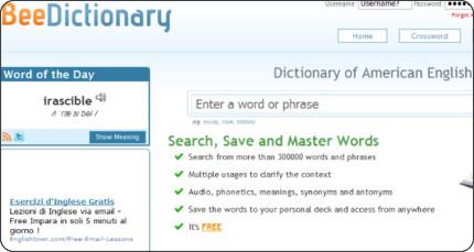http://www.beedictionary.com/