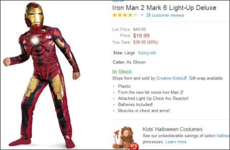 http://www.amazon.com/Light-Up-Deluxe-Costume-Child-10-12/dp/B003ER4XQS/ref=sr_1_9?ie=UTF8&qid=1378861800&sr=8-9&keywords=ironman+costume
