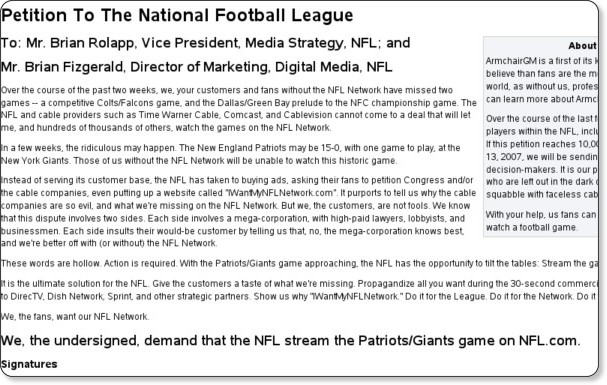 http://www.armchairgm.com/Petition_To_The_National_Football_League
