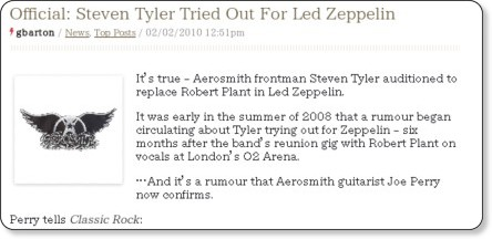 http://www.classicrockmagazine.com/news/official-steven-tyler-tried-out-for-led-zeppelin/