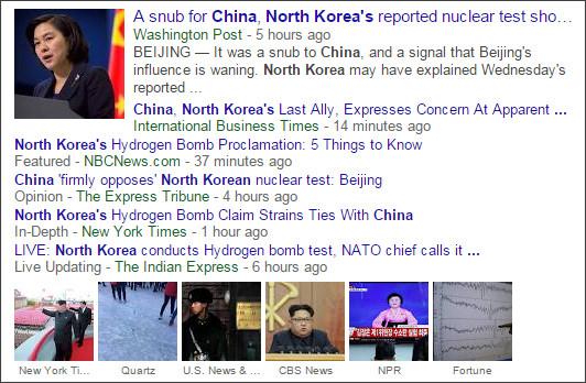 https://www.google.com/search?hl=en&gl=us&tbm=nws&authuser=0&q=China&oq=China&gs_l=news-cc.3..43j0l10j43i53.7674.8809.0.9245.5.5.0.0.0.0.149.656.0j5.5.0...0.0...1ac.1.YHkZ6Nvn6EI#hl=en&gl=us&authuser=0&tbm=nws&q=China+north+korea