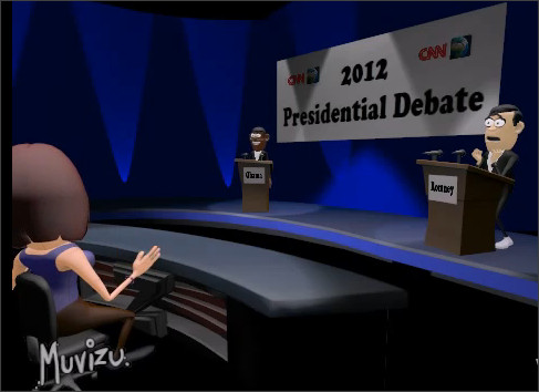 http://www.muvizu.com/Video/18241/Presidential-Debate-2012