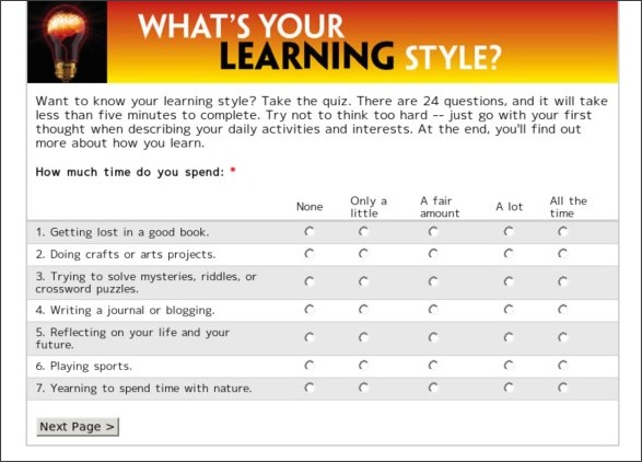 Learning Styles Inventory Printable Quotes