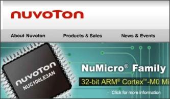 http://www.nuvoton.com/hq/enu/pages/default.aspx