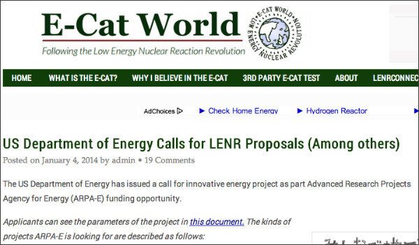 http://www.e-catworld.com/2014/01/us-department-of-energy-calls-for-lenr-proposals-among-others/