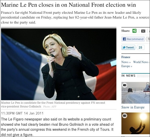 http://www.telegraph.co.uk/news/worldnews/europe/france/8261336/Marine-Le-Pen-closes-in-on-National-Front-election-win.html