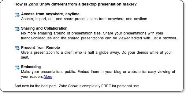 https://show.zoho.com/login.do