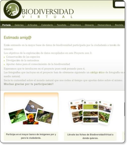 http://www.biodiversidadvirtual.org/