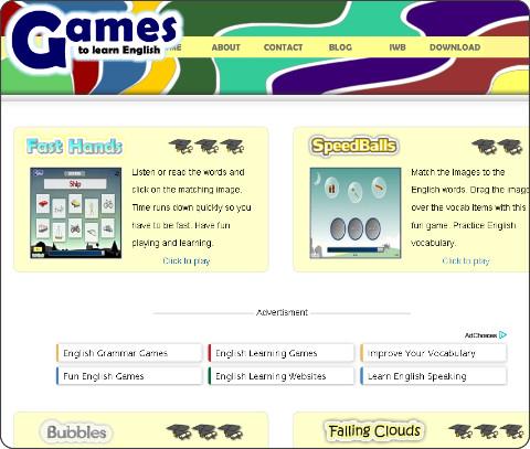 http://gamestolearnenglish.com/
