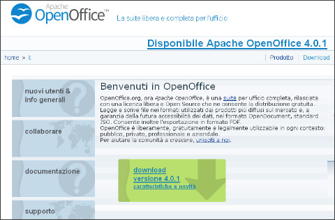 http://www.openoffice.org/it/
