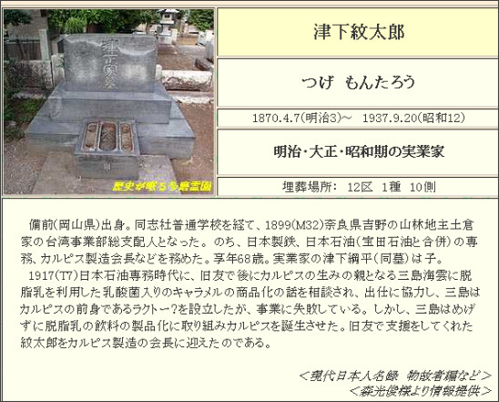http://www6.plala.or.jp/guti/cemetery/PERSON/T/tsuge_mo.html