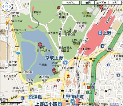 http://maps.google.co.jp/maps?f=q&source=s_q&hl=ja&geocode=&q=%E6%9D%B1%E4%BA%AC%E3%80%80%E4%B8%8D%E5%BF%8D%E6%B1%A0&sll=35.71042,139.766393&sspn=0.020524,0.037551&brcurrent=3,0x60188e9d69aa599f:0xe99307b20e4a98f5,0&ie=UTF8&hq=%E4%B8%8D%E5%BF%8D%E6%B1%A0&hnear=%E6%9D%B1%E4%BA%AC%EF%BC%92%EF%BC%93%E5%8C%BA&ll=35.711361,139.773645&spn=0.010698,0.018775&z=16