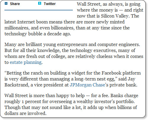 http://dealbook.nytimes.com/2012/01/15/in-silicon-valley-the-ripe-scent-of-new-money/?ref=business