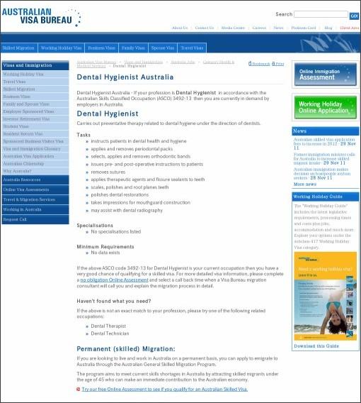 http://www.visabureau.com/australia/jobs/dental-hygienist-australia.aspx