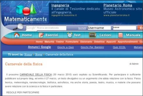 http://www.matematicamente.it/notizie/news/carnevale_della_fisica_201003086915/