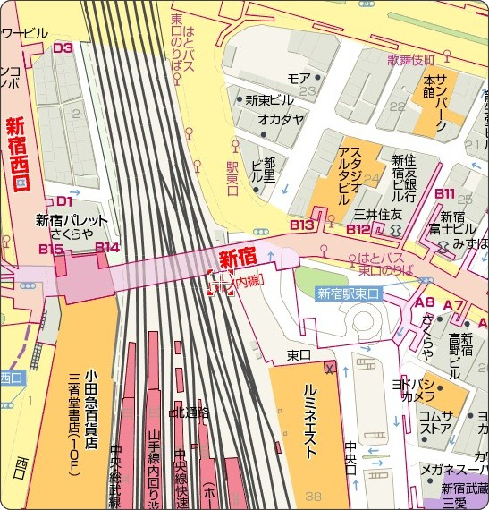 http://map.yahoo.co.jp/pl?lat=35.6889548441254&lon=139.70371613271973&sc=1&mode=map&type=scroll