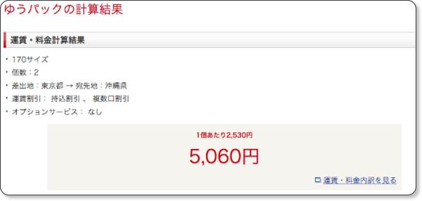 http://www.post.japanpost.jp/cgi-simulator/youpack.php