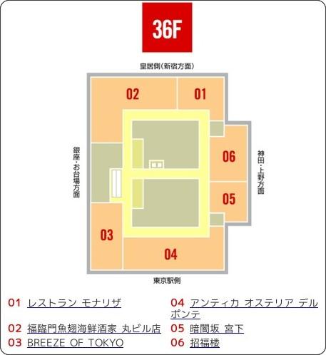 http://www.marubiru.jp/02_shop/floormap_36f.html