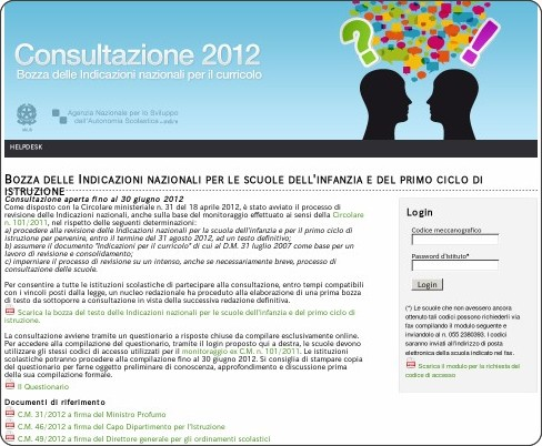 http://www.indire.it/indicazioni/consultazione2012/index.php?action=login