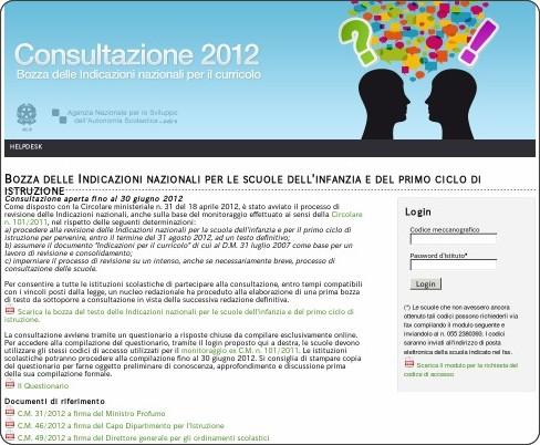 http://www.indire.it/indicazioni/consultazione2012/index.php?action=login