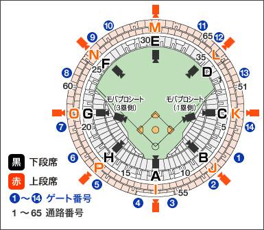 http://www.kyoceradome-osaka.jp/seat/