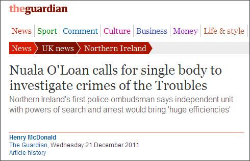 http://www.guardian.co.uk/uk/2011/dec/26/northern-ireland-police-ombudsman1