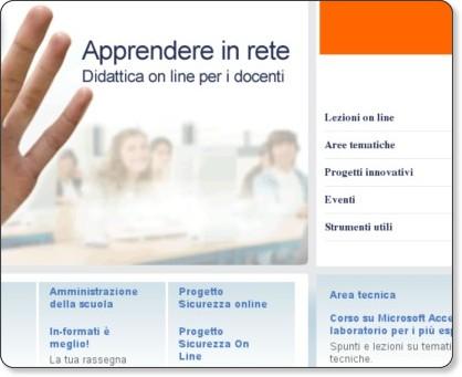 http://www.apprendereinrete.it/