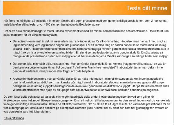 http://w3.psychology.su.se/betula/testa_ditt_minne.html