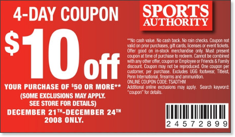 image about Sports Authority Coupons Printable called As Lifestyle Goes Electronic : Direct in direction of Cricket, Promotions, MBA and