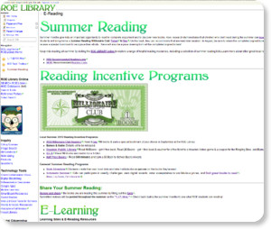 http://roelibrary.wikispaces.com/E-Reading