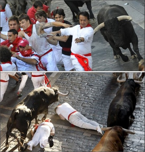http://gigapica.geenstijl.nl/2009/07/running_with_the_bulls.html