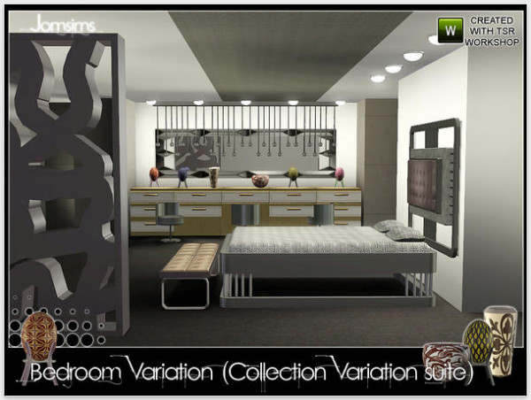 Мебель для Sims 3. 18.06.2013. Каталог файлов Симс 3. Спальня Bedroom Vari