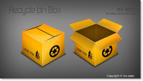 http://mx-steel.deviantart.com/art/RecycleBin-Box-64009397
