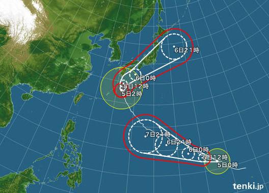 http://www.tenki.jp/bousai/typhoon/