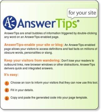 http://www.answers.com/main/answertips.jsp