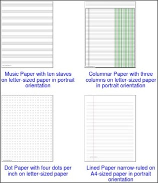 graphic regarding Www Printablepaper Net called By no means Acquire Notepaper Once more: \u201cPrintable\u201d Paper for Pill