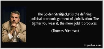 Golden Straight Jacket - JacketIn