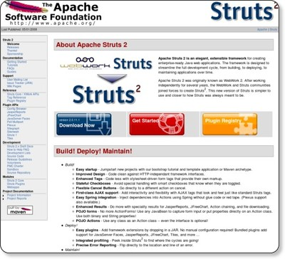 http://struts.apache.org/2.1.2/index.html