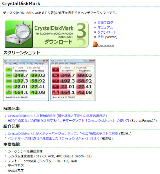 http://crystalmark.info/software/CrystalDiskMark/