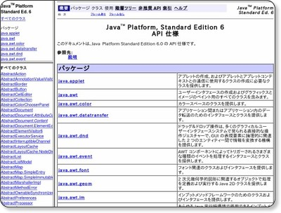 http://docs.oracle.com/javase/jp/6/api/